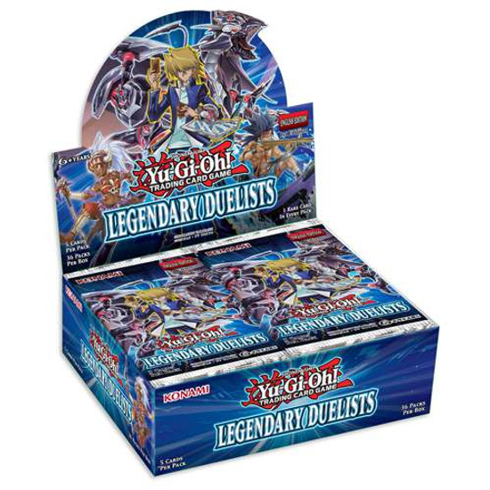 YuGiOh Trading Card Game Legendary Duelists Booster Box [36 Packs]