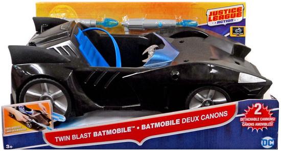 Justice League Action JLA Twin Blast Batmobile Vehicle