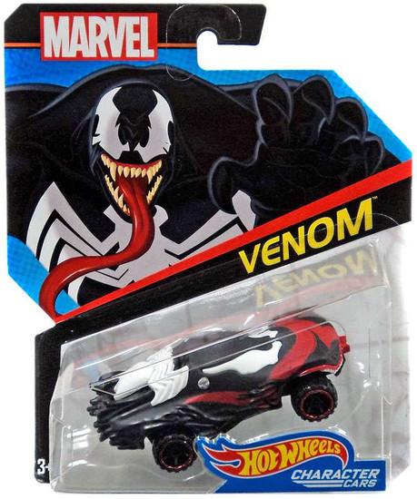 Hot Wheels Marvel Venom Die-Cast Car