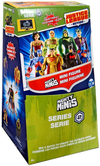 DC Justice League Action Mighty Minis Series 2 Mystery Box [36 Packs]