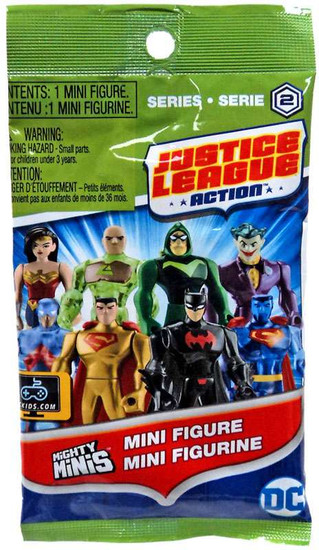 DC Justice League Action Mighty Minis Series 2 Mystery Pack [1 RANDOM Figure]