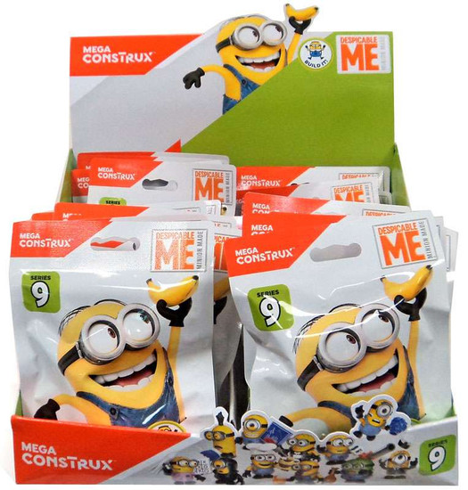 Despicable Me Minion Made Series 9 Mystery Box [24 Packs]