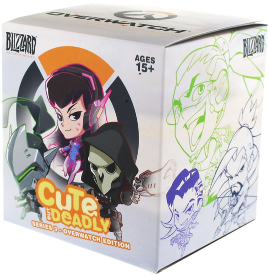 Cute But Deadly CBD Series 3 (Overwatch) Mystery Pack