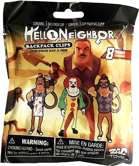 Clip On Hangers Hello Neighbor Mystery Pack