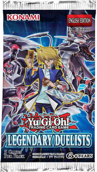 YuGiOh Trading Card Game Legendary Duelists Booster Pack