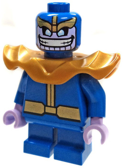 LEGO Marvel Super Heroes Thanos Minifigure [Mighty Micros Loose]