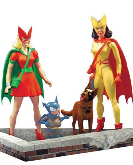 DC The Classic Silver Age Batgirl and Batwoman Action Figure Set [Loose]
