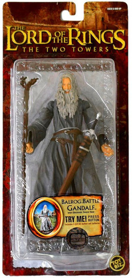 The Lord of the Rings The Two Towers Collectors Series Gandalf Action Figure [Talking Balrog Battle]
