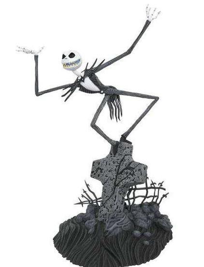 Nightmare Before Christmas Movie Gallery Jack Skellington PVC Figure Statue