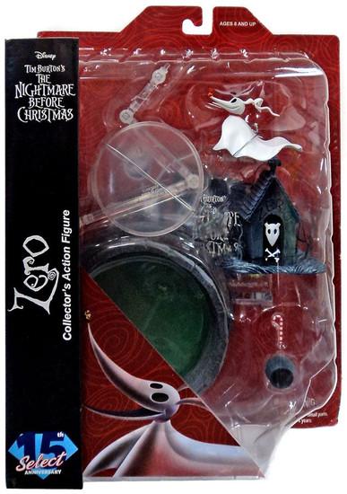 Nightmare Before Christmas Select Series 4 Zero Action Figure