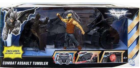 Batman The Dark Knight Combat Assault Tumbler Exclusive Action Figure Vehicle [Damaged Package]
