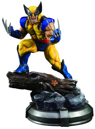 Marvel X-Men Danger Room Wolverine Fine Art Statue