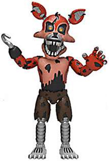 Funko Five Nights at Freddy's Nightmare Foxy 2-Inch Vinyl Mini Figure [Loose]
