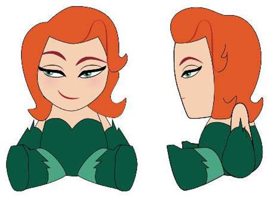 DC Batman Phunny Poison Ivy Plush
