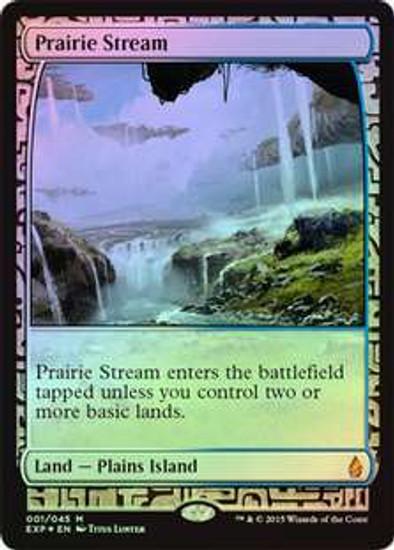 MtG Battle for Zendikar Mythic Rare Prairie Stream [Zendikar Expedition]