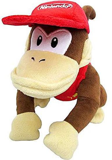 Super Mario Diddy Kong 7 inch Plush