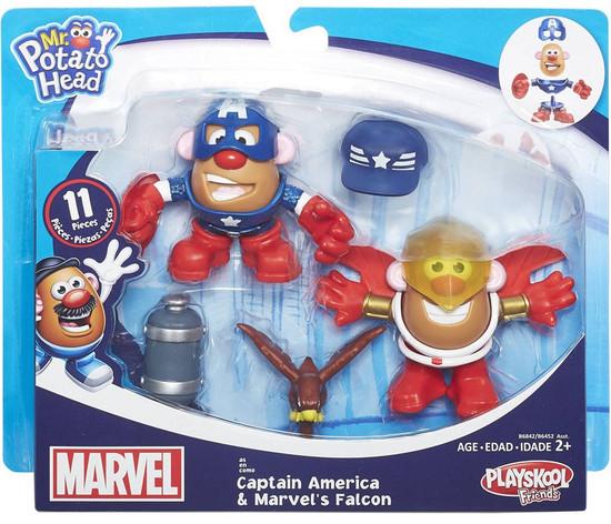 Playskool Friends Captain America & Marvel's Falcon Mr. Potato Head
