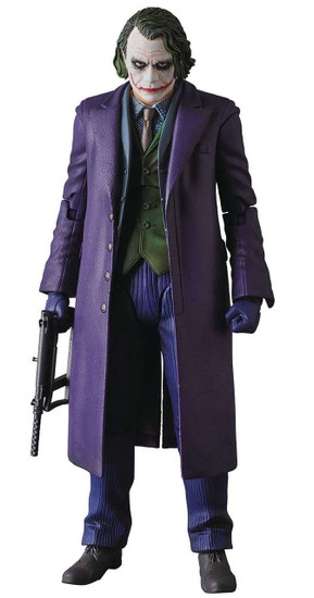 DC The Dark Knight MAFEX The Joker Action Figure [Version 2.0]