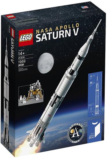 LEGO Ideas NASA Apollo Saturn V Set #21309