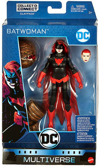 DC Multiverse Clayface Series Batwoman Action Figure [Rebirth]