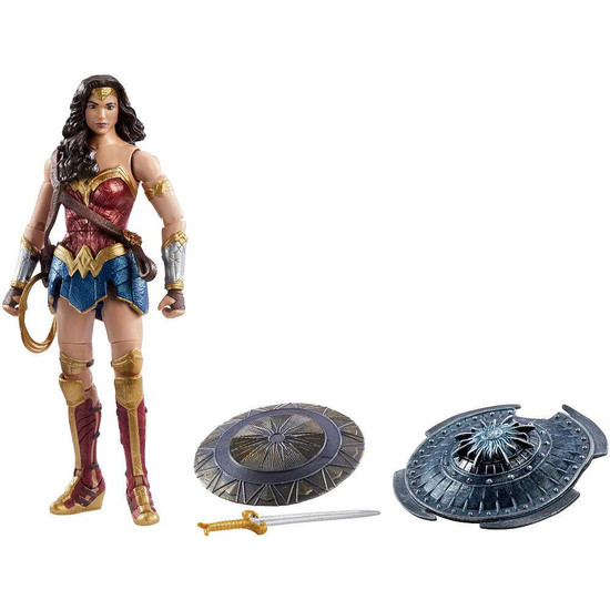 """DC COMICS MULTIVERSE WONDER WOMAN 6/"""" ACTION FIGURE COLLECTOR TOYS with ARES"""