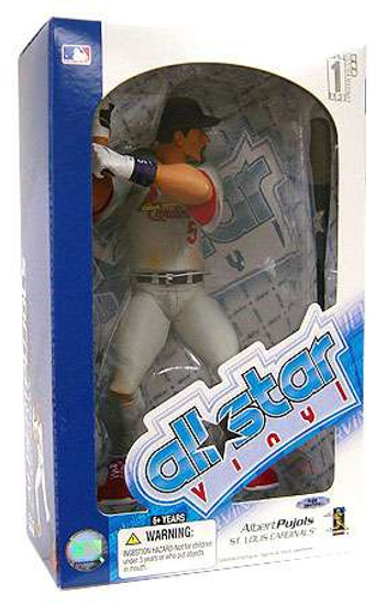 MLB St. Louis Cardinals All Star Vinyl Albert Pujols (Gray Jersey) Vinyl Figure [Damaged Package]