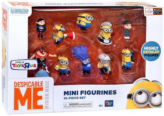 Despicable Me 2 Minion Made Exclusive 2-Inch Mini Figure 10-Pack [Damaged Package]