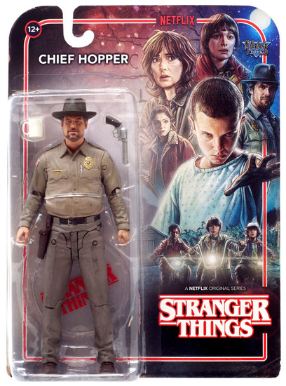 McFarlane Toys Stranger Things Series 1 Chief Hopper Action Figure