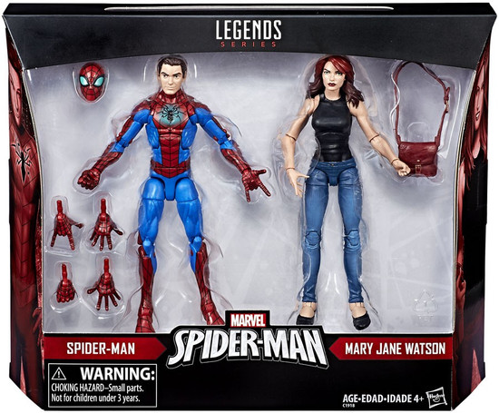 Marvel Legends Spider-Man & Mary Jane Watson Exclusive Action Figure 2-Pack