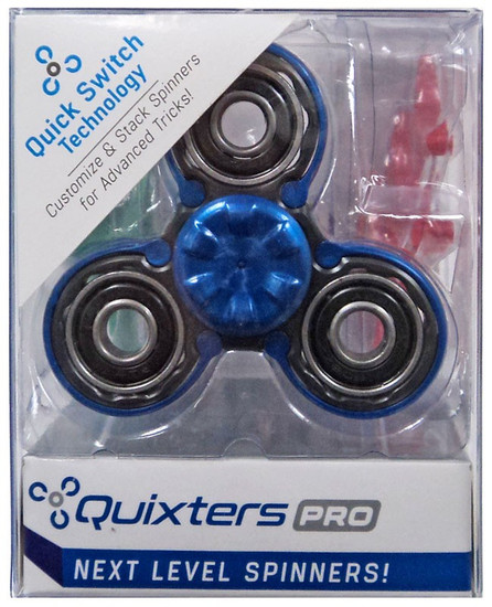 Quixters Black Pro Spinner [Blue Outside]