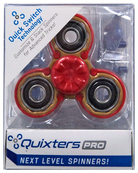 Quixters Gold Pro Spinner [Red Outside]
