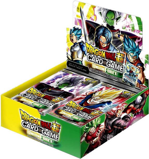 Dragon Ball Super Trading Card Game Series 2 Union Force Booster Box DBS-B02 [24 Packs]