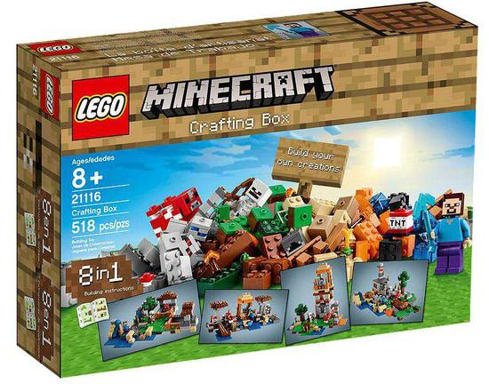LEGO Minecraft Crafting Box Set #21116 [Damaged Package]