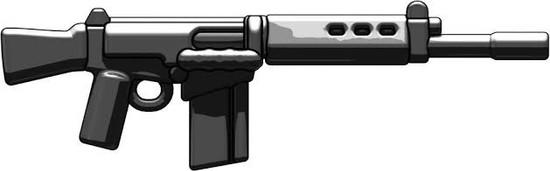 BrickArms NATO Battle Rifle 2.5-Inch [Black]