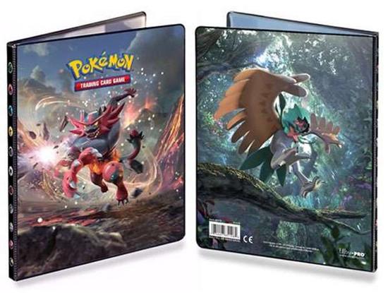 Ultra Pro Pokemon Trading Card Game Sun & Moon Incineroar & Decidueye Mini Binder
