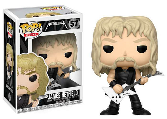 Funko Metallica POP! Rocks James Hetfield Vinyl Figure #57