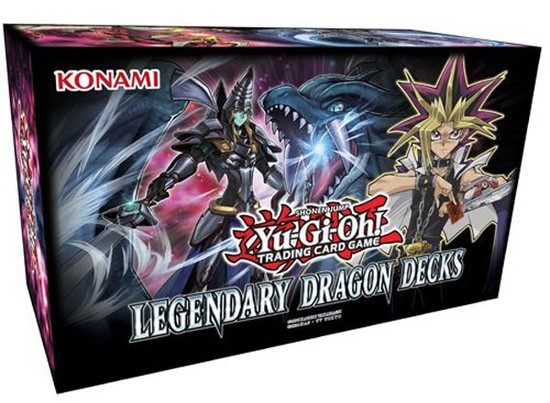 YuGiOh Trading Card Game Legendary Dragon Decks Box Set