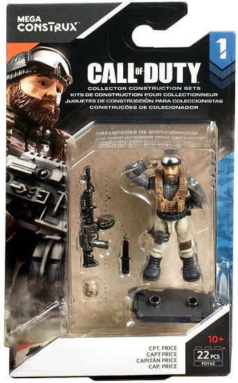 Call of Duty Specialists Series 1 Cpt. Price Mini Figure
