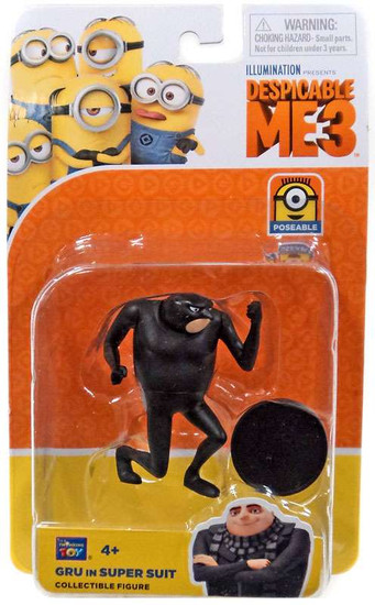 Despicable Me 3 Gru in Super Suit Action Figure