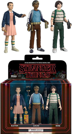 Funko Stranger Things Lucas, Mike & Eleven Action Figure 3-Pack