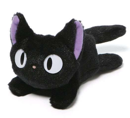Studio Ghibli Kiki's Delivery Service Jiji Bean Bag Plush