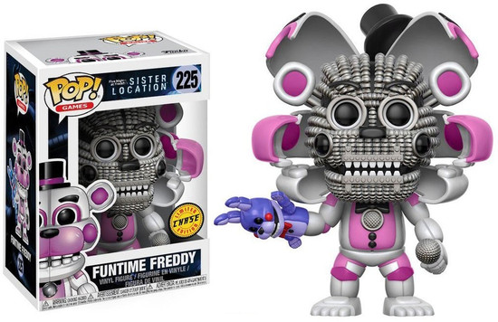 Funko Five Nights at Freddy's Sister Location POP! Games Funtime Freddy Vinyl Figure #225 [Open Face Chase Version]