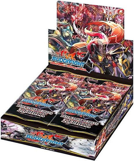 Future Card BuddyFight Trading Card Game The Dark Lords Rebirth Booster Box [30 Packs]