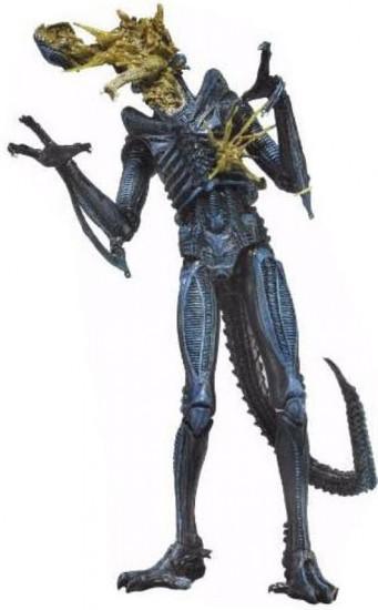 NECA Aliens Series 12 Battle-Damaged Alien Xenomorph Action Figure [Blue]