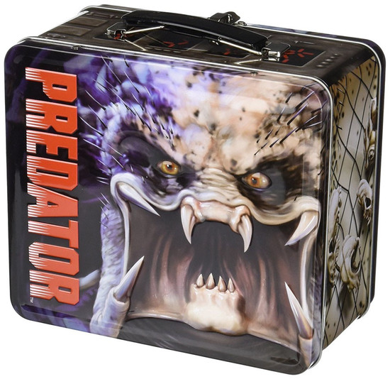 Predator Distressed Lunch Box with Thermos