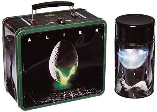 Alien Distressed Lunch Box with Thermos