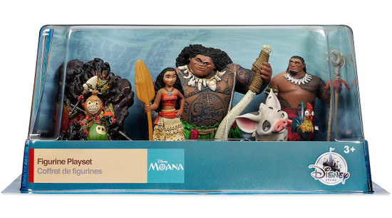 Disney Moana Moana Exclusive 6-Piece PVC Figure Play Set