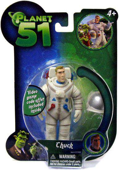 Planet 51 Chuck Mini Figure [Damaged Package]