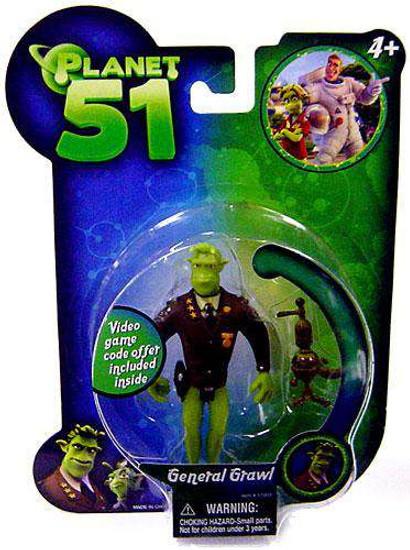 Planet 51 General Grawl Mini Figure [Damaged Package]