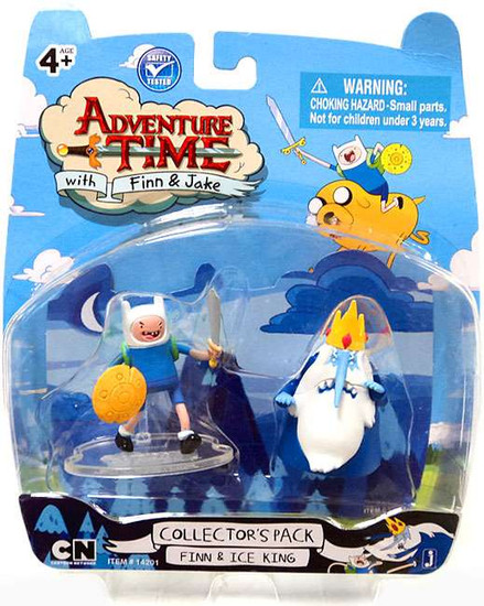 Adventure Time Collector's Pack Finn & Ice King 2-Inch Mini Figure 2-Pack [Loose]